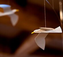 Paper Gulls by Edward Myers