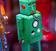 Tin Robot by Edward Myers