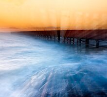 Dusk at Middle Brighton Baths #1 by Jason Green
