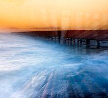 Dusk at Middle Brighton Baths #1 by Jason Green