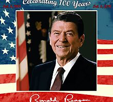 Reagans 100th Birthday Tribute by dezine01bo