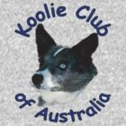 KCA Blue Merle head painted by Koolie Club  of Australia