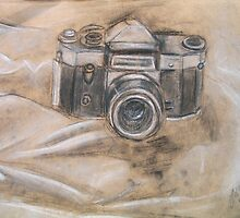Old Camera (Still Life) by Jasmin Witham