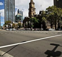 Town Hall Intersection, Sydney by iami