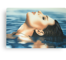 """Serenity"" Water Colour Artwork Canvas Print"