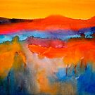 Landscape Abstract...The Niagara Escarpment by  Janis Zroback