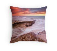 Sunset Storm II Throw Pillow