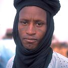 Fulani Man on Market Day, Illela, Niger by Valarie Napawanetz