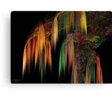 Weeping Fractal Canvas Print