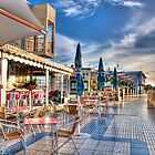 Sidewalk Cafe~ by WJPhotography