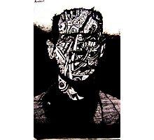 Monster #3 (Drawn on hangul Korean caligraphy paper) Photographic Print