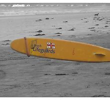Lifegurd surfboard by milesphotos