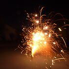 Orange New Year Fireworks by linsa
