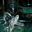 Crystal butterfly by KERES Jasminka