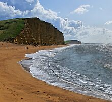 East cliff, West Bay, Dorset, UK by buttonpresser