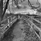Wensleydale Footbridge. by Lindamell
