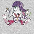 Hip Hop Bunny by flamingrhino