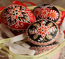 Three Czech Easter Eggs by pogomcl