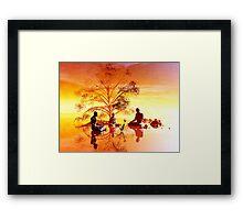 Ficus religiosa Framed Print