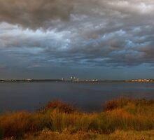 Evening Storms by Artimagery