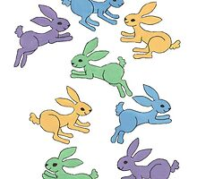 Rabbit Habit/Lotsa Leapin' Lapin by redqueenself
