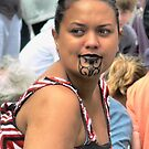 Maori Pride in a Crowd by cullodenmist