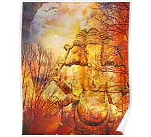 Ganesh River Dream Poster