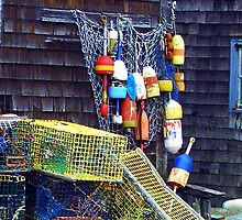 Buoys and Traps by Monika Fuchs