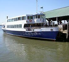 Miss Gateway, Liberty Island Ferry by Paul Cryer