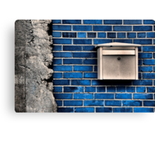 Mail Box Canvas Print