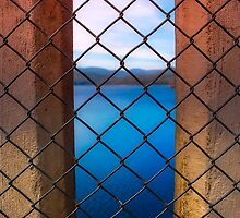 Peeking Through Maroondah Dam Wall by Jason Green