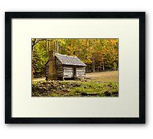 Alex Cole Cabin II Framed Print