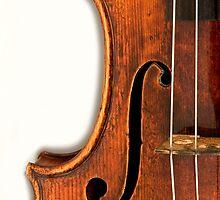 1728 Stradivarius Left F by Endre