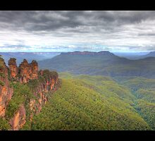 Three Sisters - Blue Mountains by Adam Gormley