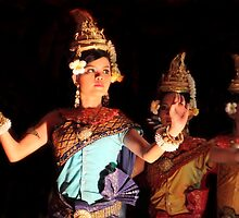 Apsara Dancers by Kerry Duffy