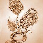 Ovaria Fritillia Sepia by Helena Wilsen - Saunders