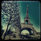 Retro Eiffel Tower by shutterjunkie