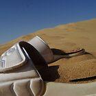 White Sandy Sandals by irwanla