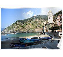 Monterosso , Italy - Cinque Terre Poster