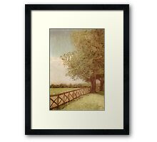 Green * Wall Art Framed Print