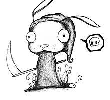 Grim Bunny by grimxbunny