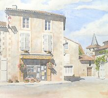 "Boulangerie ""Pain d'Autrefois"" at Javerlhac, France by ian osborne"