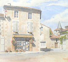 "Boulangerie ""Pain d'Autrefois"" at Javerlhac, France by ian osborne"