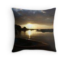 Blakeney, Norfolk...Evening Sun Throw Pillow