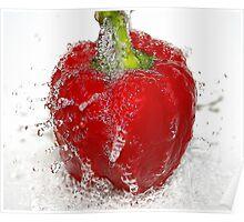 splash of red Poster