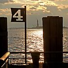 Battery Park Sunset  by Cassandra Burda