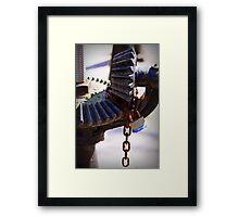 obstacles Framed Print