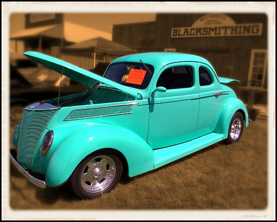 1937 Ford 5 Window Coupe by TeeMack