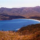 Wineglass Bay, Freycinet Peninsula by Michael John