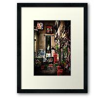 Back-Alley Madonna Framed Print